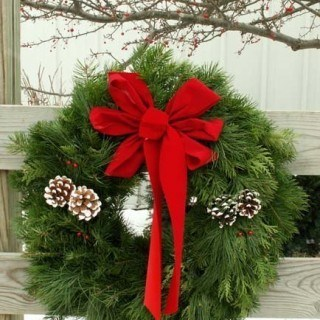 Wonderful Selection of Christmas Wreaths, Swags, Garlands and More